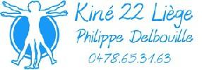 logo Philippe Delbouille - kinésithérapeute à Kiné 22